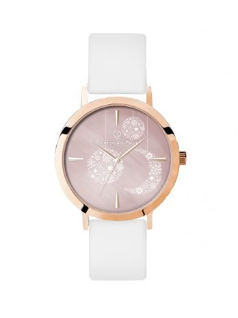 316 Limited Edition – Rose Gold / White Leather