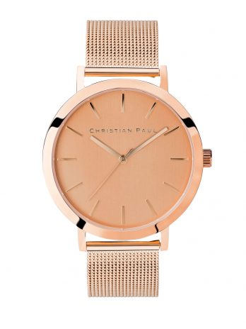 217 Capital – Rose Gold / Rose Gold Mesh / Rose Gold Face
