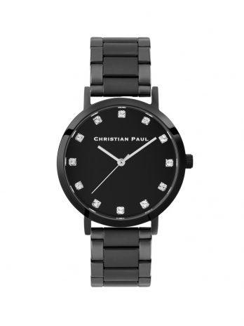 195 Luxe – Black / Black Steel Link / Black Face